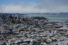 写真●地価が高騰するサンフランシスコ市内の住宅地