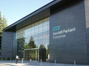 写真1●米Hewlett Packerd Enterprise(HPE)の本社