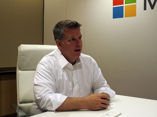 写真1●米MicrosoftのJason Zander氏