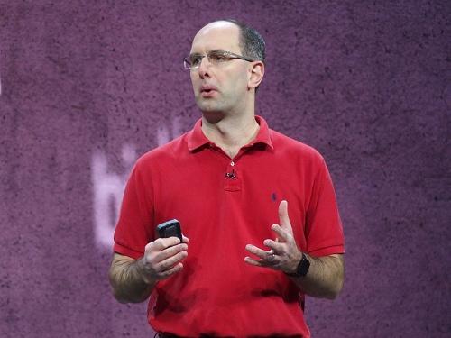 写真2●米MicrosoftのScott Guthrie氏