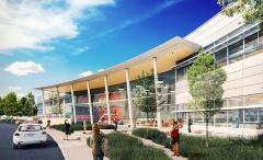 写真1●d.Tech High Schoolの新校舎完成予想図