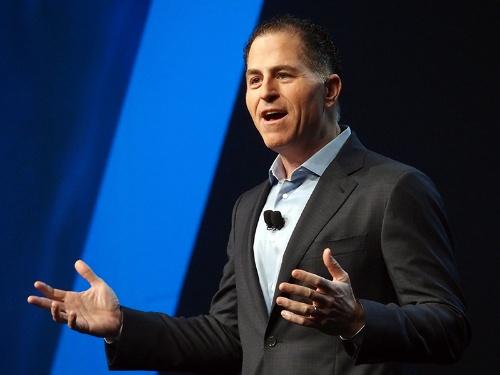 写真1●米Dell TechnologiesのMichael Dell会長兼CEO(最高経営責任者)