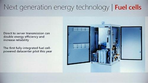 写真2●MicrosoftがAzureのデータセンターに導入する燃料電池