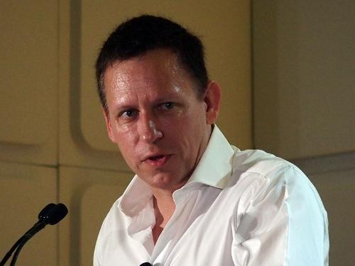 写真1●米PayPal創業者として知られるPeter Thiel氏