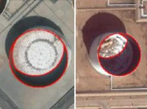 図2●原油タンクの影の形