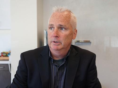 写真1●Orbital Insightの最高ビジネス責任者であるKevin E O'Brien氏