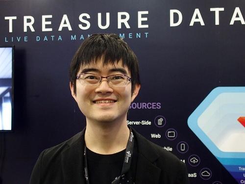 写真●米Treasure Dataの共同創業者の古橋貞之氏