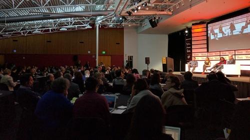 写真1●「Inclusion in Silicon Valley」の会場