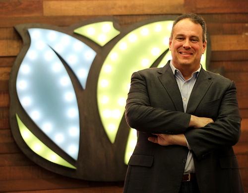 写真1●米KabbageのRob Frohwein CEO(最高経営責任者)