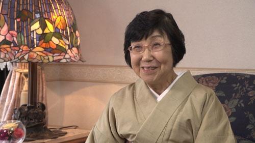 ドラマ「あさが来た」の原案となった小説の著者、古川智映子さん