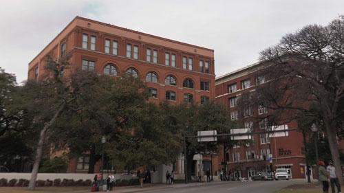 犯行現場となった元テキサス教科書倉庫ビル