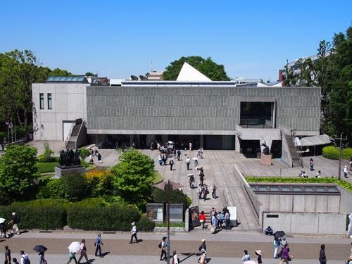 コルビュジエが日本で唯一設計した国立西洋美術館。世界遺産に登録された