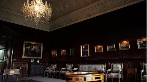 オランダの巨匠フェルメールの絵画が飾られていた部屋