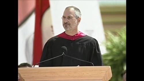 スティーブ・ジョブズ、スタンフォード大学卒業式でのスピーチ
