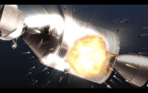 アポロ13号爆発の様子