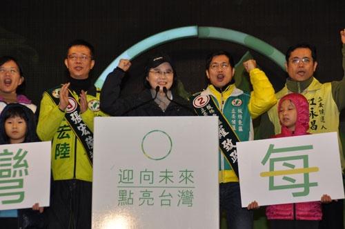 蔡氏は台湾の人々の期待に応えられるだろうか