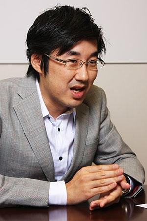 みずほ銀行の唐鎌大輔チーフマーケット・エコノミスト(写真:柚木裕司)