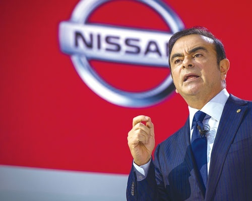 <b>2000年から約17年間にもわたって日産自動車の社長を務めたカルロス・ゴーン氏</b>