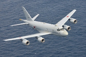 <b>川崎重工業は日本周辺海域の潜水艦や不審船などを警戒・監視する哨戒機「P-1」を量産</b>(写真提供=海上自衛隊)