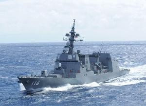 <b>三菱重工業は新型護衛艦の開発などで失地回復を図る(同社が近年建造した「てるづき」)</b>(写真提供=海上自衛隊)