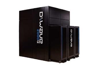 カナダのDウエーブ・システムズが開発した、量子アニーリング方式のコンピューター