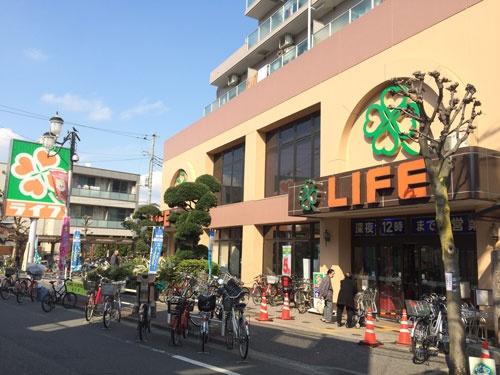 パート従業員の労働力を最大限に生かそうと工夫を凝らす(東京都内のライフコーポレーションの店舗)