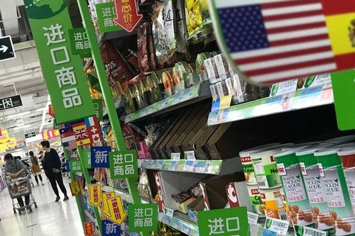 中国が米国に報復関税。貿易戦争の懸念が高まっている(写真=AP/アフロ)