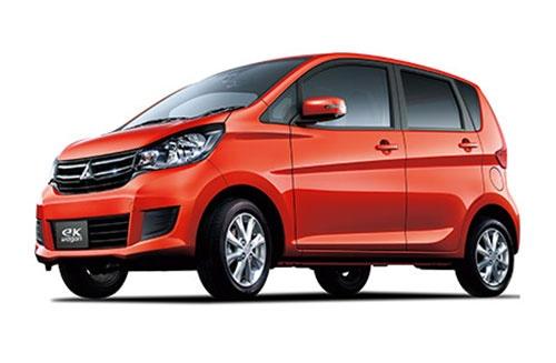 燃費の不正が明らかになった三菱自動車の「eKワゴン」