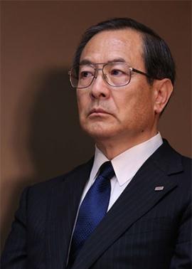 東芝の室町正志社長(写真:陶山 勉)