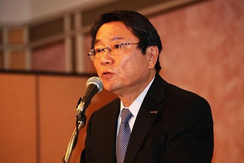 新たにベネッセホールディングス社長に就任する、現副社長兼CAO(最高管理責任者)の福原賢一氏。