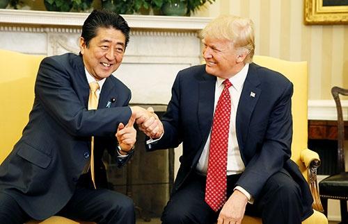 日本は今秋以降、通商問題の大きなハードルに直面する(写真:ロイター/アフロ)