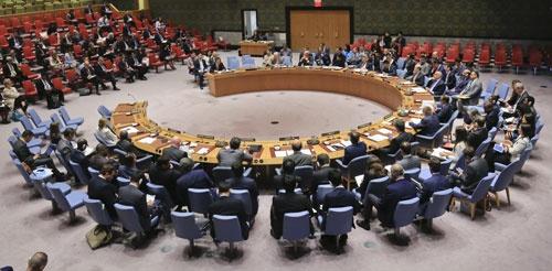 国連安全保障理事会は、北朝鮮の核実験を受けて緊急会合を開催した(写真:AP/アフロ)