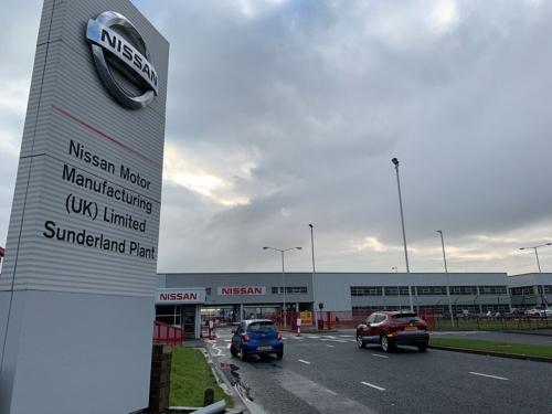 日産自動車のサンダーランド工場。約7000人を雇用し、英国最大の生産台数を誇る工場だ。