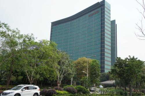 中国・深圳にあるファーウェイの本社