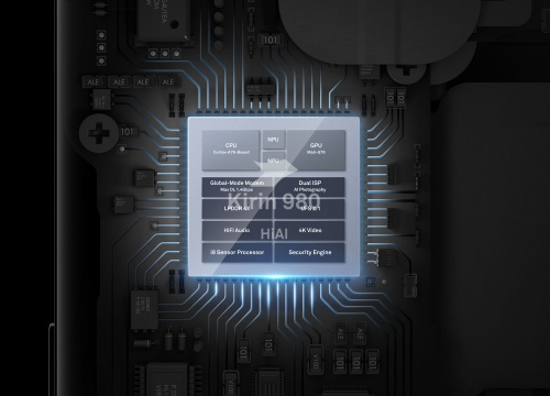 ハイシリコンが開発したチップセット「Kirin980」