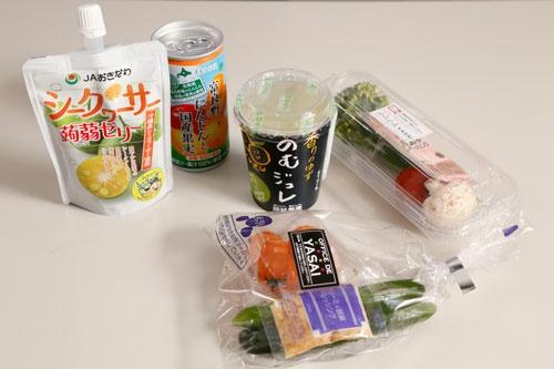 OFFICE DE YASAIでは、地方の野菜や果物を生かした商品も扱う