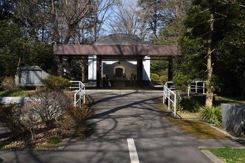 ハンセン病療養施設・多磨全生園(東京都東村山市)の納骨堂