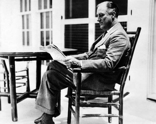 ルーズベルト大統領は「司法積極主義」に悩まされた。(写真:Everett Collection/アフロ)