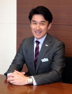 <b>三井住友銀行の中村浩一郎・採用グループ長は「面接では本音でしゃべってほしい」と語る</b>