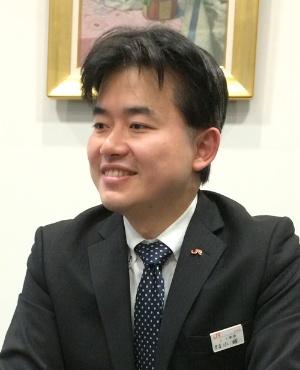 JR東海で採用担当の小峰宏夫・人事課課長代理