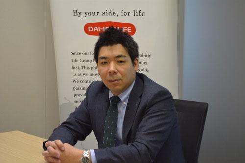 第一生命保険で人事部マネジャーを務める中溝哲聡氏