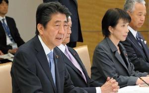 安倍晋三首相は昨年11月の未来投資会議で遠隔診療について言及。医療関係者は診療報酬改定への期待を寄せている(写真=朝日新聞社)