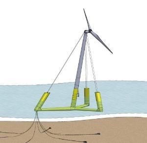 <b>新エネルギー・産業技術総合開発機構(NEDO)も低コストの浮体式の研究を開始</b>