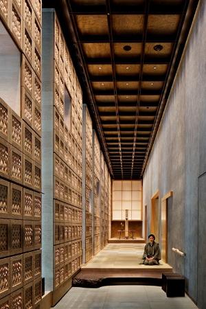 星野リゾートが東京・大手町に開業した「星のや東京」の玄関
