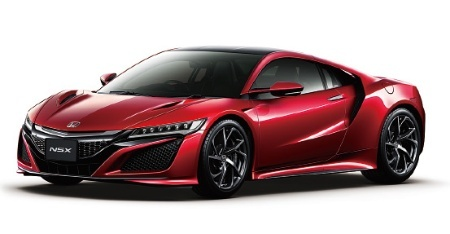 """<span class=""""number"""">図1</span>ホンダのスーパーカー「NSX」"""