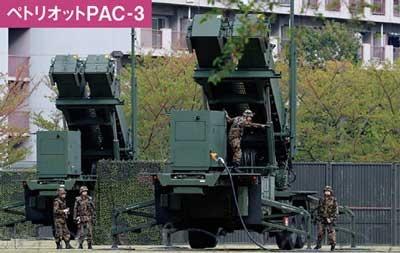 地対空ミサイル「ペトリオットPAC-3」は日本全国6カ所に配備され、機動展開が可能(写真=AP/アフロ)