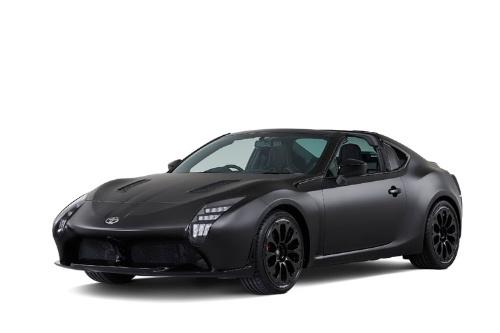 東京モーターショーで初披露される「GR HV SPORTS concept」。WECのTS050 ハイブリッドを想起させるヘッドライトデザインが特徴。ハイブリッド技術「THS-R(TOYOTA Hybrid System-Racing)」を搭載。あくまでコンセプトで市販の予定はないという(写真:トヨタ自動車)