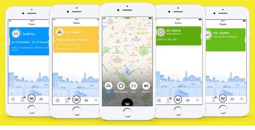 フィンランドのMaaSグローバルが展開するMaaSアプリ「Whim(ウィム)」