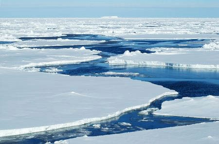 北極海の氷の分布状況の情報を得ることを目的として、ウェザーニューズとタッグを組んだ。写真はイメージ(写真:staphy/123RF)