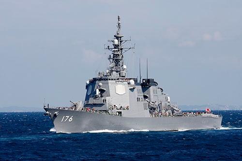 イージス装置一式を装備した海上自衛隊のこんごう型護衛艦「ちょうかい」(写真:井上 孝司)
